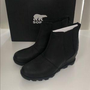 Sorel Joan of arctic wedge II Chelsea boots